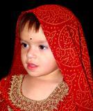 Indian water girl