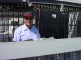 1. Robbie the postman at Paradise Palms Resort