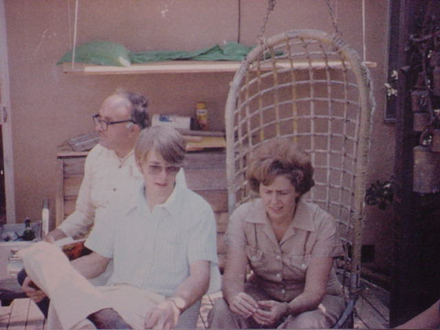 Dad, Mike Sharp <br>and Aunt Betty Sharp