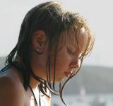 Danielle at beach
