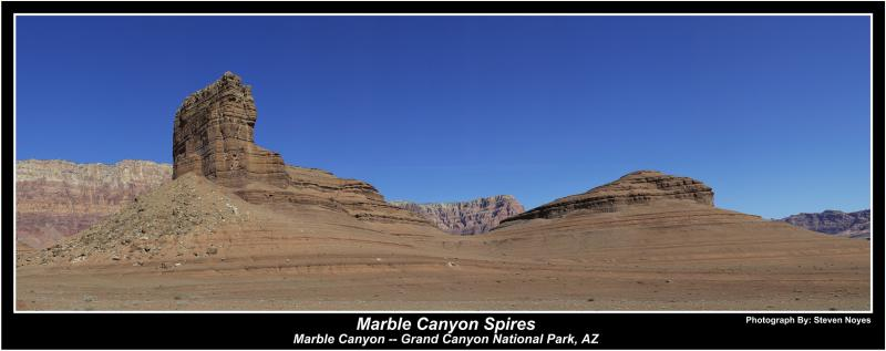 Marble Canyon Spires