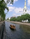 St. Petersburg - many canals in the city built on tiny islands