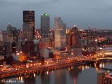 December Pittsburgh Night