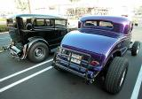 31 Model A on a 32 frame with a 32 Grill (black car)