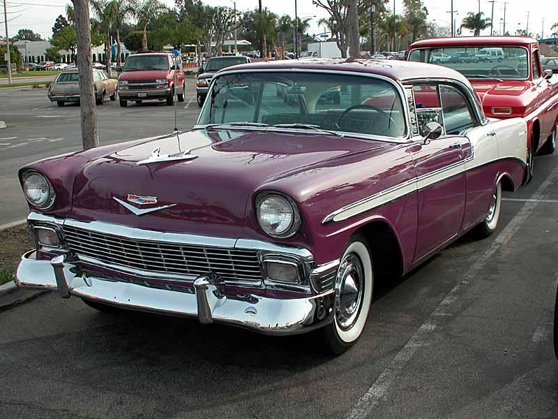 1956 chevrolet bel air 4 door hard top photo ken leonard for 1956 chevy belair 4 door hardtop for sale
