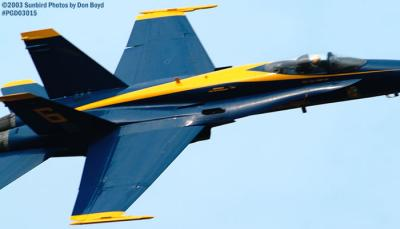 USN Blue Angels F/A-18 Hornet military aviation air show stock photo #3563