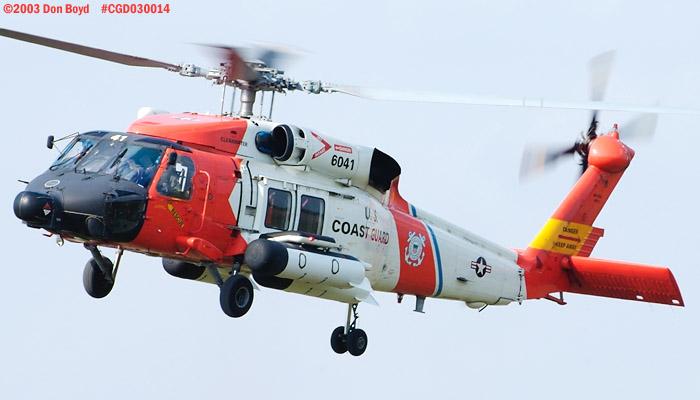 2003 - USCG HH-60J Jayhawk #CG-6041 - Coast Guard stock photo #3486