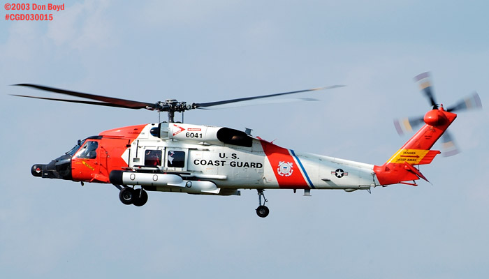 2003 - USCG HH-60J Jayhawk #CG-6041 - Coast Guard stock photo #3488