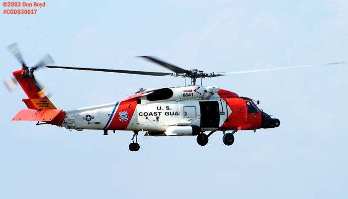 2003 - USCG HH-60J Jayhawk #CG-6041 - Coast Guard stock photo #3493