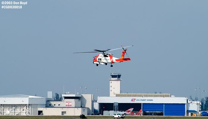2003 - USCG HH-60J Jayhawk #CG-6041 at Air Station Miami - Coast Guard stock photo #3495