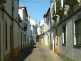 Évora - street in the old town