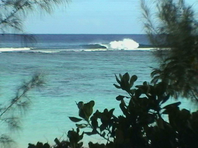 black rock surf spot...very shallow and powerful..one of the best spots on the island