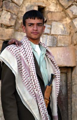 Young man in Thula, Yemen
