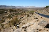 Sana'a to Shibam-Kawkaban highway