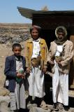 Yemeni boys near Shibam