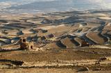 Terraced fields near Hababa, Yemen