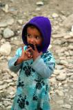Little girl in Hababa