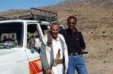 Suleiman and the driver Mohammad