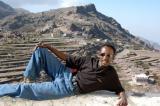 Suleiman posing in Al-Khutayb