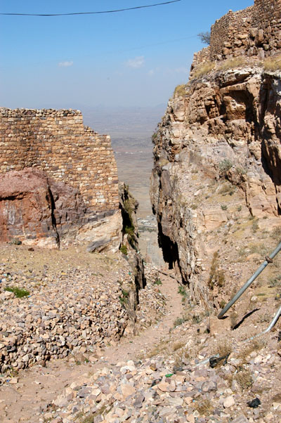 The path from Shibam to Kawkaban