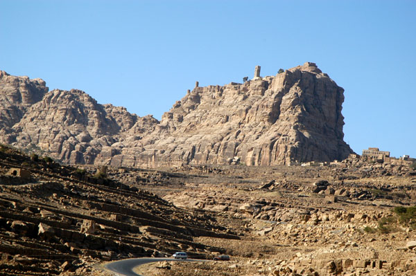 Thula (Thilla) is surmounted by an old fort