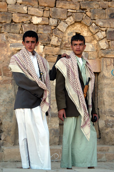 Two young men in Thula