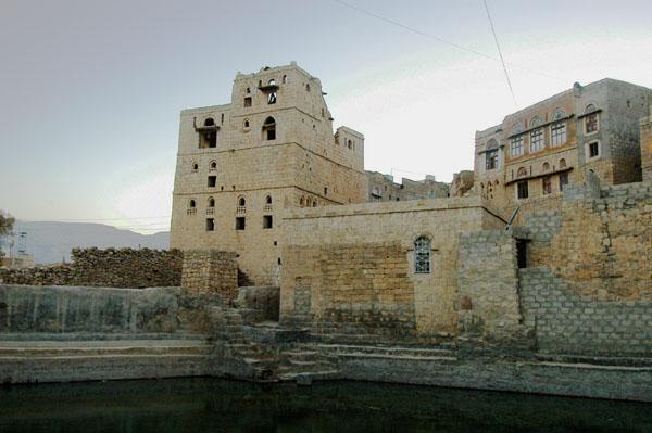 Cistern in Hababa, Yemen