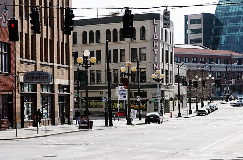 Seattle street scene