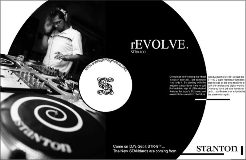 Ad for Stanton Turntables