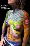 body painting cell:514 262-0531 www.decormoi.com