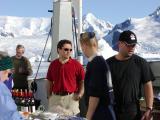 Mary, Chris, Zach (purser), Sonja (sous chef) & Phil (head chef)