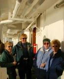 Jean, Randi, Mary & Barbara after a few at the BBQ