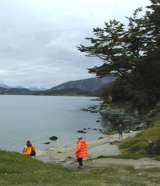 Sandra & Jean at Tierra del Fuego NP