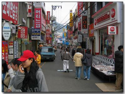 Mid-day Pusan Korea
