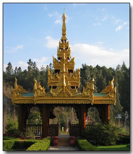Thai exhibit, Kunming