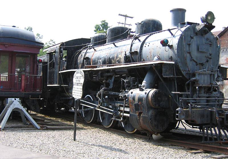 0-6-0 Steam Locomotive