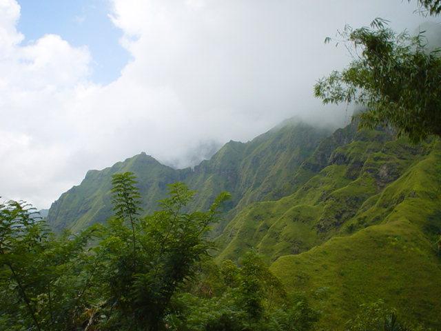 Flores mountains