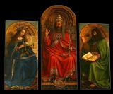 L 'Agneau Mystique (1432) par Hubert et Jan van Eyck