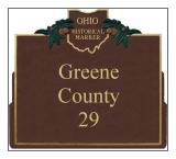 Greene County Historical Markers