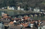 The Old Bridge over the Neckar River
