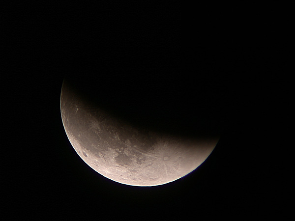 Lunar Eclipse: November 8, 2003