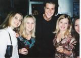 Tracy, Lindsy, Foxy, Sarah, and Tarina dancing at Axix Radius.