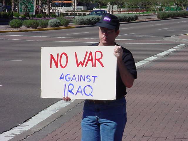 no war against iraq