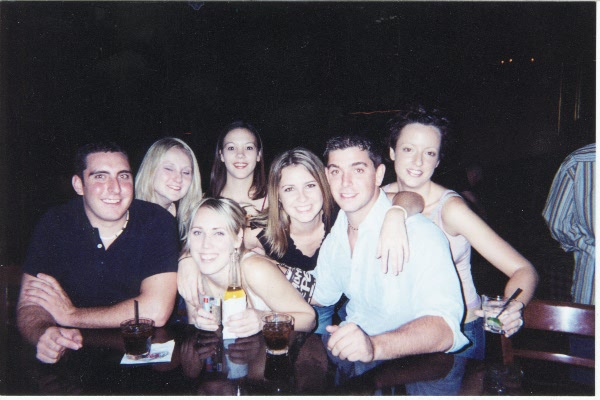 Our friend Tracys 21st bday Oct 20th 2002.