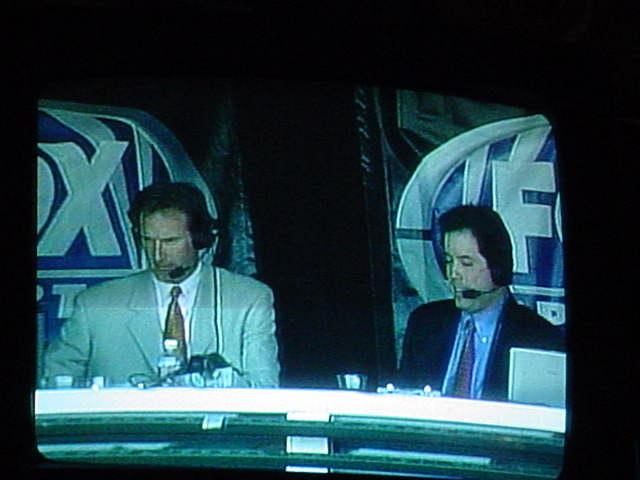 baseball on TV announcers
