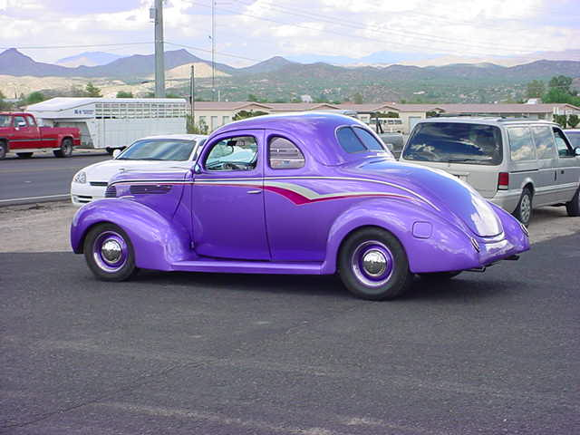 purple 5 window coupe