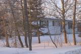 MNR Staff Housing thru Trees