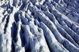 Glacier ridges