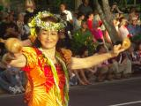 Hula dancer from Japan
