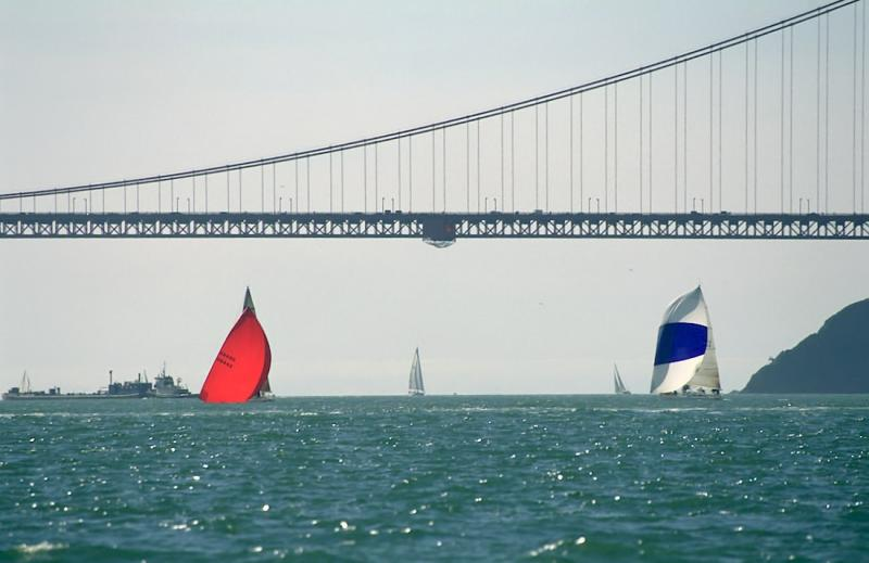 3-36 J-120 and Spinnaker
